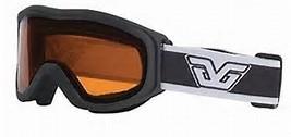 Crest Ski Goggles-BLACK/ROSE LENS