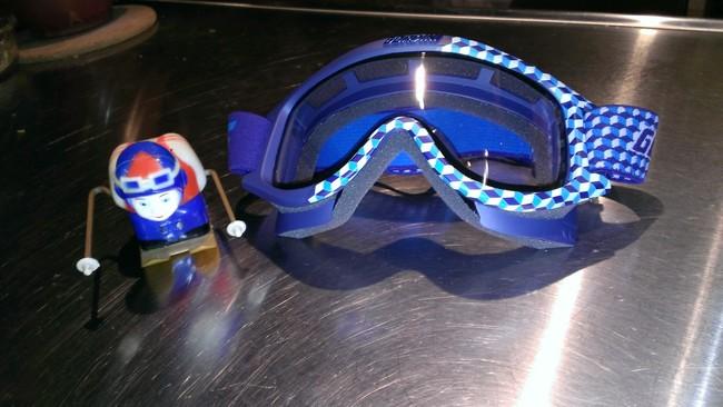 Starting Gate Jr Ski Goggles -BLUE/GOLD CUBE